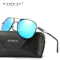 EZREAL Mode Aluminium Et De Magnésium lunettes de Soleil Polarisées Hommes Femmes Lunettes de Soleil UV400 Conduite Lunettes oculos Nuances 8722
