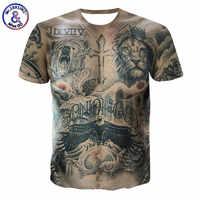 Мужская футболка с изображением мускулов, 3D принт с животными, мужские футболки, летняя футболка в стиле хип-хоп, уличная одежда, забавная фу...