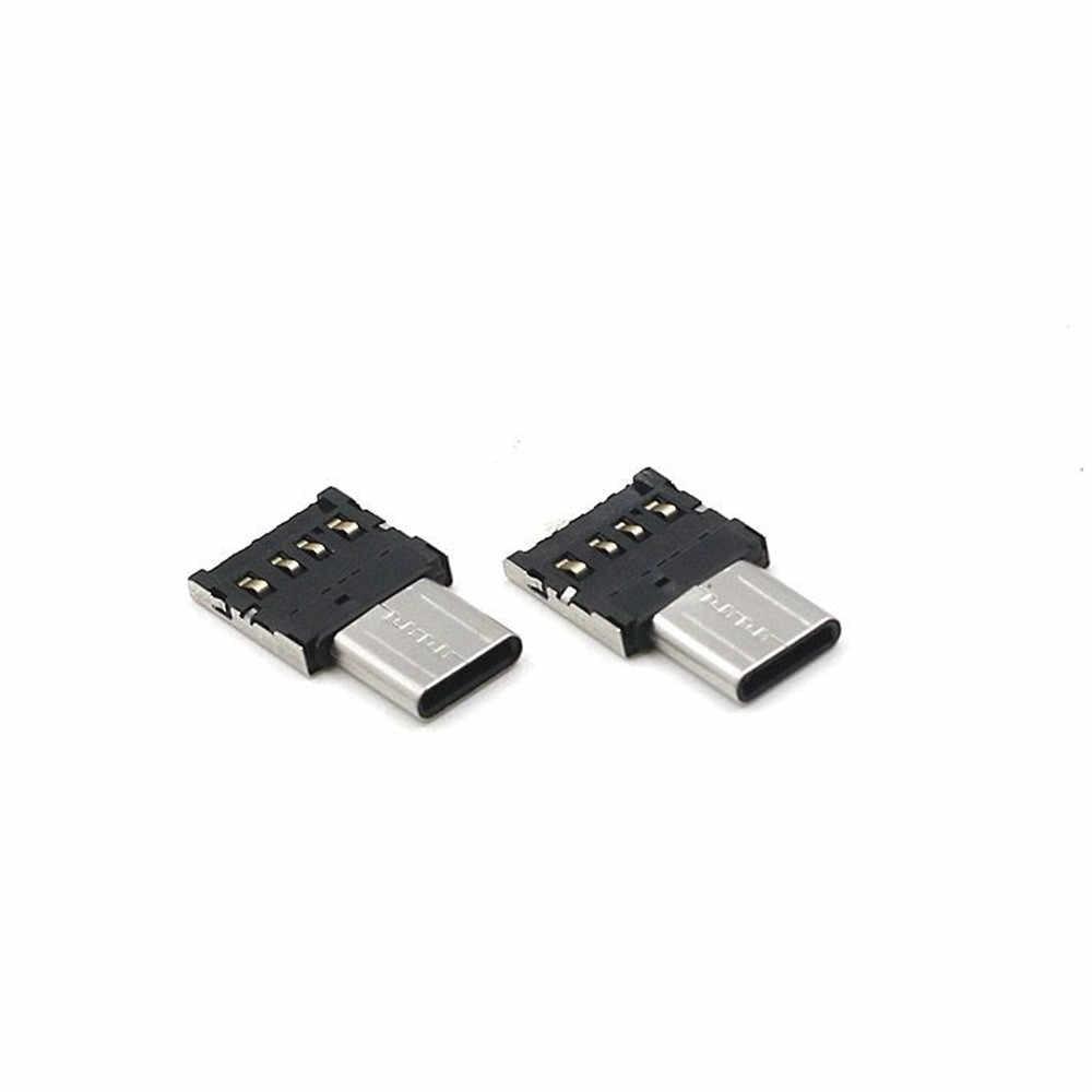 MINI USB C to USB A 3.0 Adapter Convert Connector Premium Aluminum ForMacBook Pro usb flash drive