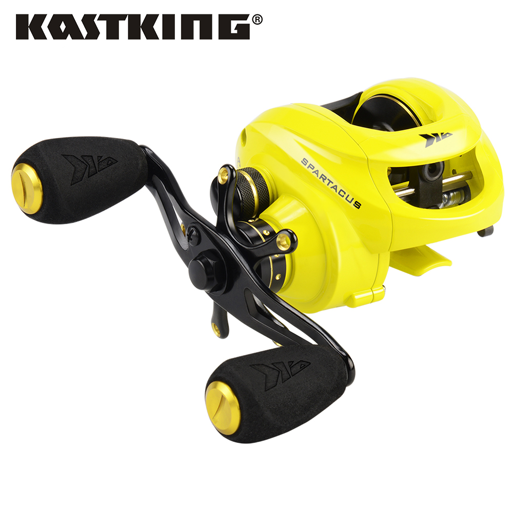 KastKing Spartacus Baitcasting Fishing Reel 8KG Drag Power 12 Ball Bearings 6 3 1 High Speed