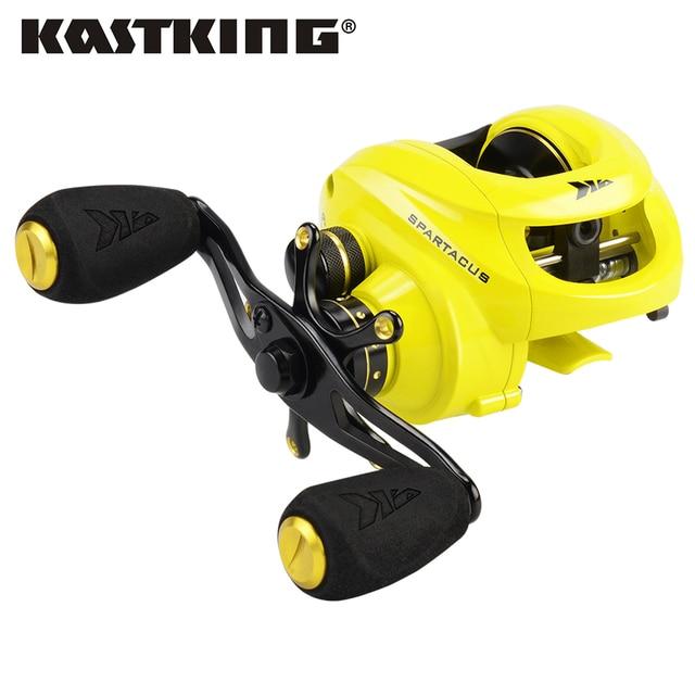 KastKing Spartacus Baitcasting Fishing Reel 8KG Drag Power 12 Ball Bearings 6.3:1 High Speed Comfortable Handle for Bass Fishing