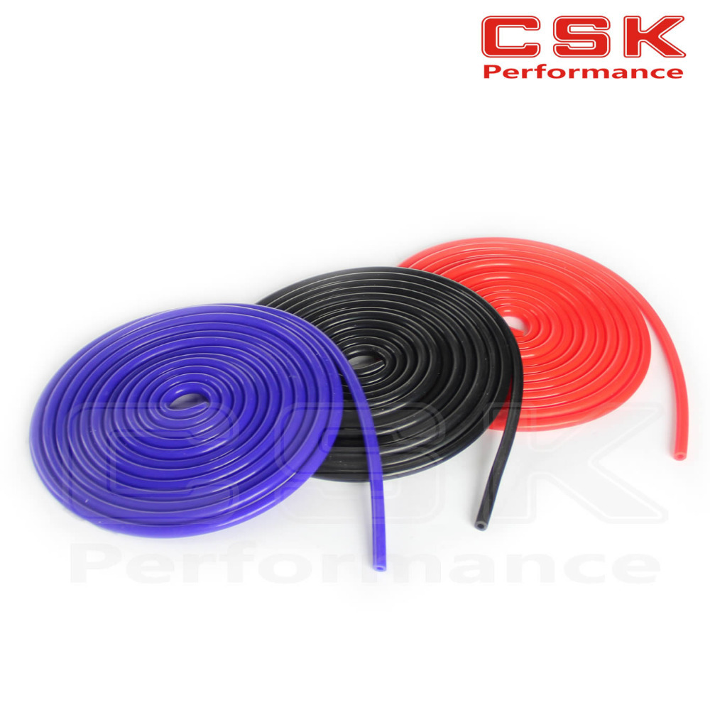 5mm Silicone Vacuum Tube Hose Silicone Tubing 16.4ft 5M 5 Meters image
