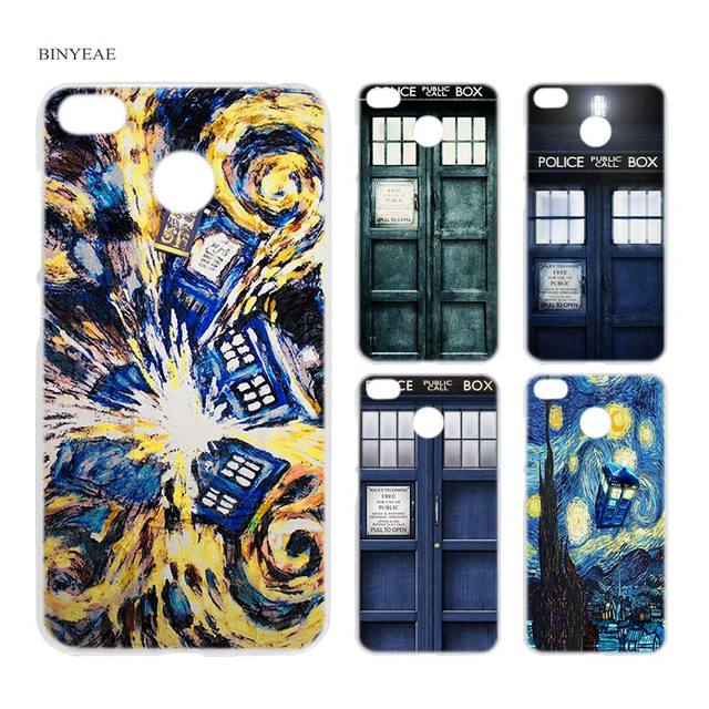 new styles 97ee1 81c59 US $1.71 34% OFF|BINYEAE Tardis Box Doctor Who Clear Case Cover Shell for  Xiaomi Redmi Note MI A1 4X 5 5A 4 4A 3 Plus 5X-in Half-wrapped Case from ...