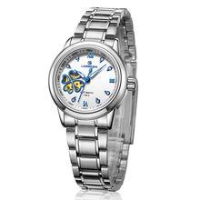 Top Band Fashion Ladies Steel Watches Women's Mechanical Watch Automatic Mechanical Wrist Watches Waterproof Dropshipping