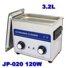 De suministro de equipos AC 110 v / 220 v temporizador y calentador JP-020 3.2L limpiador accesorios de hardware con cesta libre