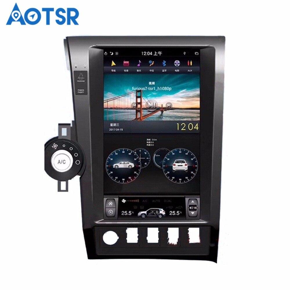 Android 6.0 Voiture navigation gps Pour Toyota Tundra 2007-2013 multimédia aucun lecteur dvd Auto autoradio enregistreur à bande wifi radio wifi