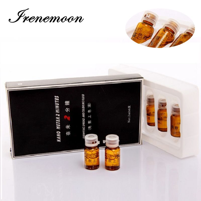 Nano Meter 2 minutes Anesthetic Tattoos Pigment Permanent Makeup skin soothe solution Pain Away Eyebrow Numb 6 bottles/box
