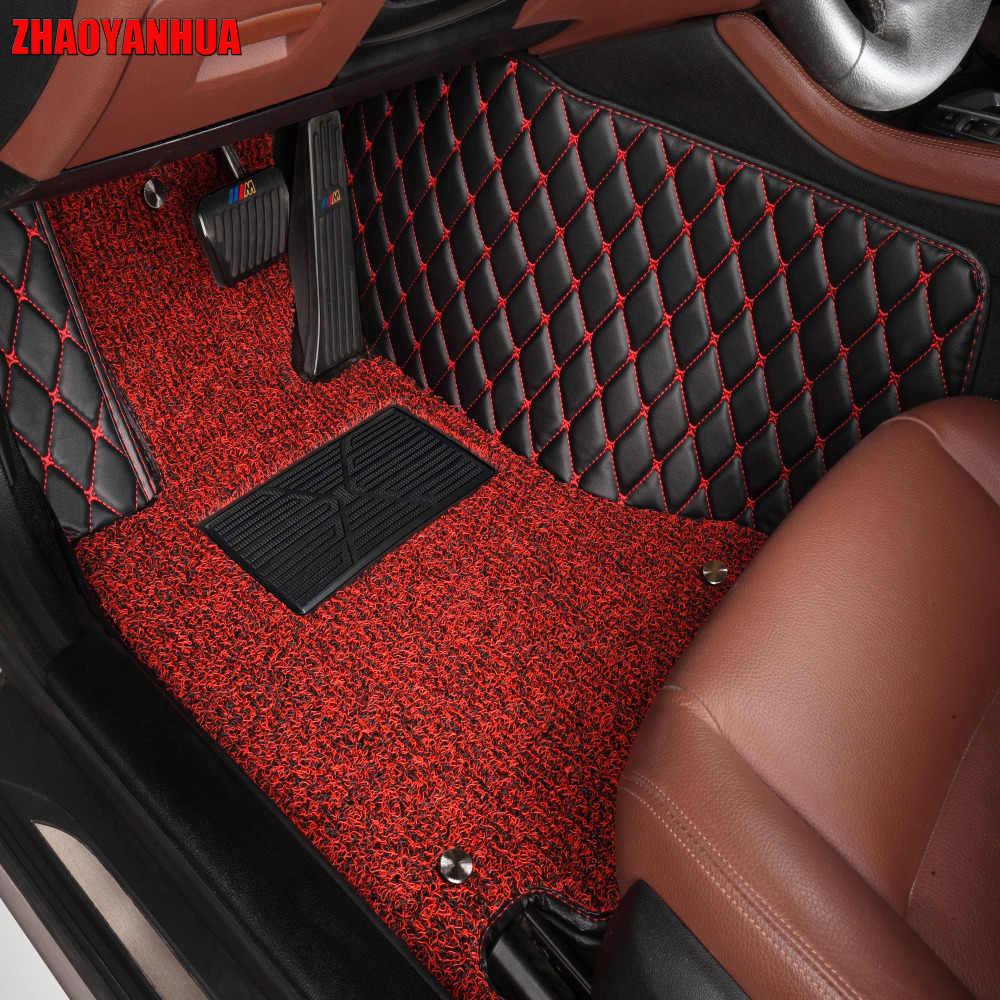 Zhaoyanhua Auto Vloermatten Voor Mazda 5 Premacy 5D Case Alle Weersomstandigheden Vol Cover Auto-Styling Tapijt Tapijten Liners (2010-)