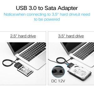 Image 4 - Ugreen sata usb3.0 drehen desktop solid state drive 3,5 zoll festplatte übertragen kabel daten kabel leicht zu fahren linie 2,0