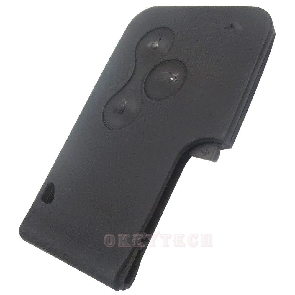 For Renault Megane 3 Button Smart card Key high quality For renault laguna car key Megane