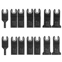 14 Pcs Quick Change Oscillating Multi Tool Saw Blade For Fein Power Tool Accessories Home Decoration