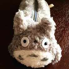 Plush toy 1pc 25cm Miyazaki Hayao totoro zero case little stationery students pencil bag stuffed toy creative gift for baby