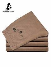 bba6d17ce32b0 Pioneer Kamp ABD Boyutu 2019 Rahat Pantolon Erkek Marka Giyim Yüksek  Kaliteli Sonbahar Uzun Haki Pantolon