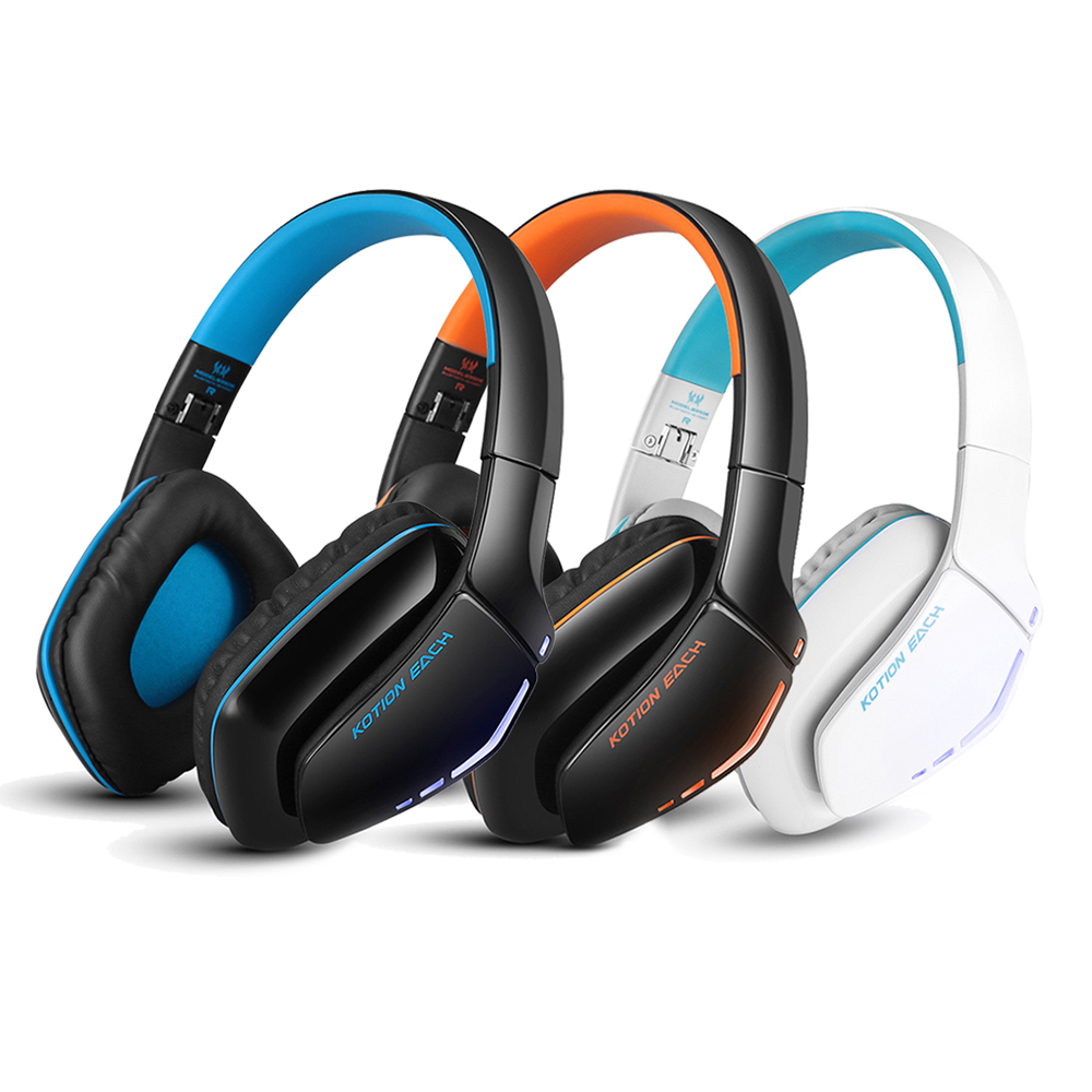 EACH B3506 Bluetooth 4.1 Noise Lsolation Stereo Headphone Foldable Wireless Music Headset with Mic 3.5mm Cable for Phone high quality portable wireless bluetooth stereo foldable headphone with built in mic speaker for music
