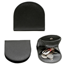 Genuine Cowhide Coin Purse Men Business Slim Leather Mini Coin Purse Small Key Wallet Zero wal...