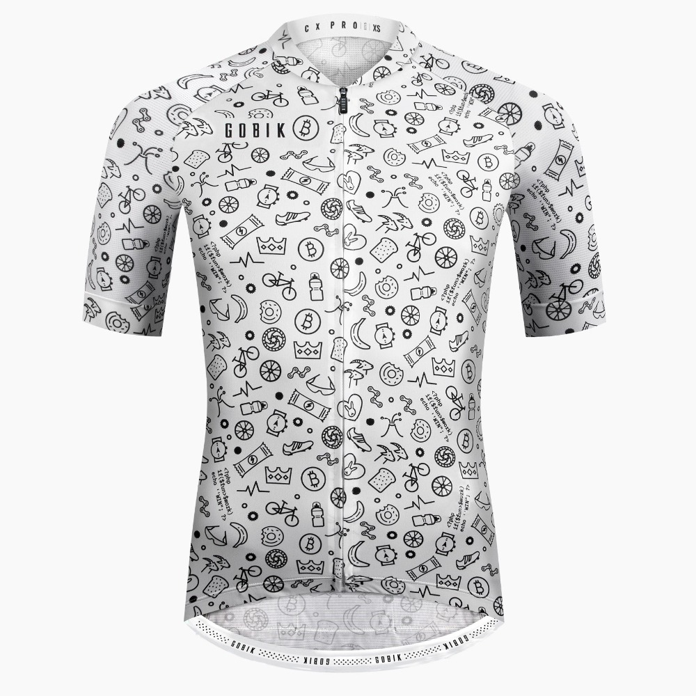 OCQBI Summer Short Sleeve Mtb Bike Cycling Jersey 2018 Ropa Ciclismo Men