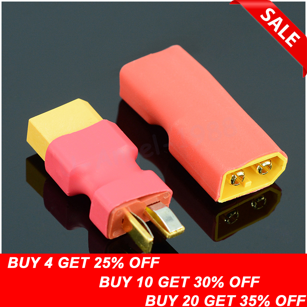 EC5 Female To T Male Plug Wireless Adapter For RC Lipo Battery Connector Z5