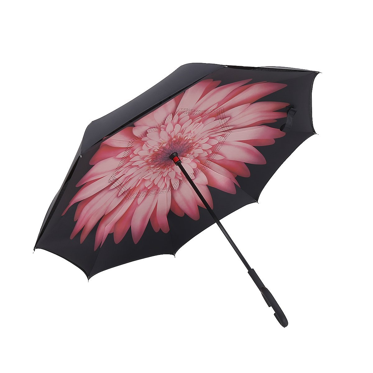 Creatieve handsfree omgekeerde paraplubak kan dubbele omgekeerde - Huishouden