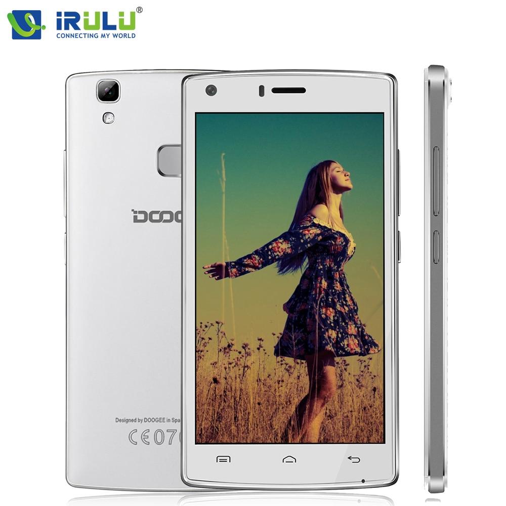 Doogee Smartphones X5 Max Pro MTK6737 iRULU 5.0 1280*720 IPS Android 6.0 Quad Core Mobile Phone 2 GB RAM + 16 GB ROM 4G 5MP 4000 mAh