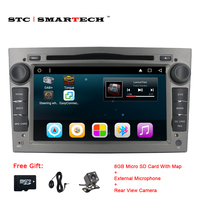 2 Din Android 6 0 1 Car DVD Multimedia Player GPS Navigation For Opel Astra H