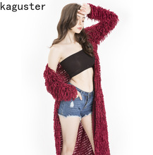 Women Cardigan Long Knitted Sweater Solid Color Tassel Design Female Long Sleeve Casual Coat Spring Autumn Women Clothing sweet solid color collarless long raglan sleeve cardigan for women