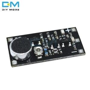Image 4 - 88 115MHz FM משדר מודול עם מיקרופון DC 2V 9V 9mA אלחוטי רכב FM רדיו Trasmitter לוח לarduino טלפון DIY