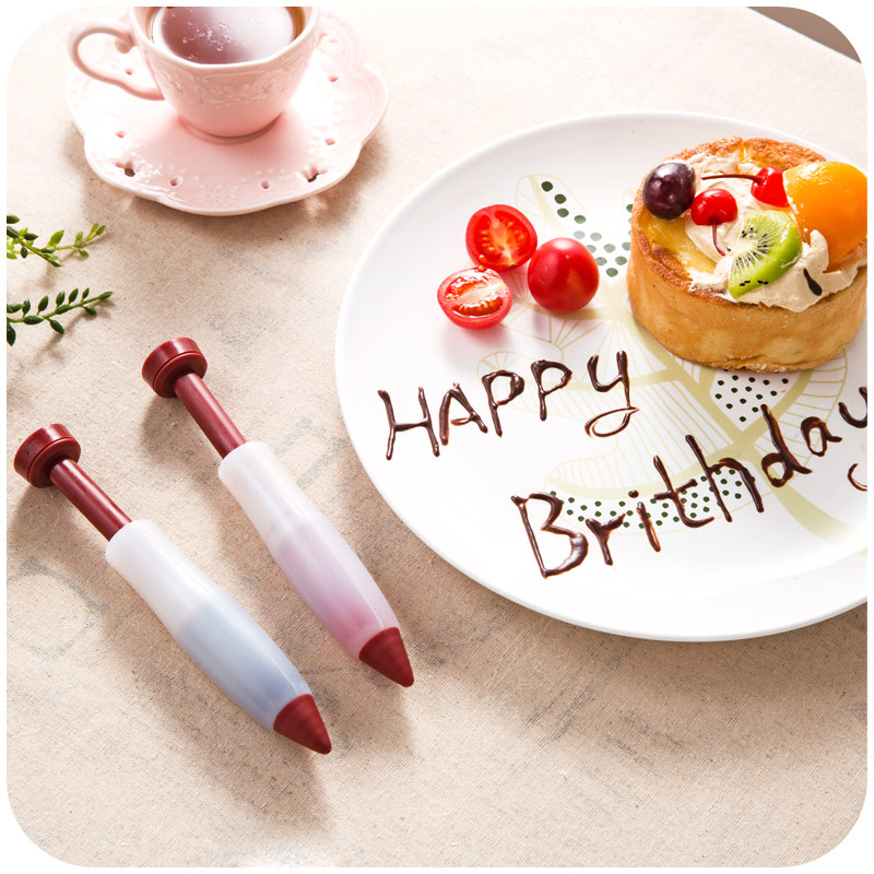 Silicone cake writing decorating/chocolate pen/baking ...