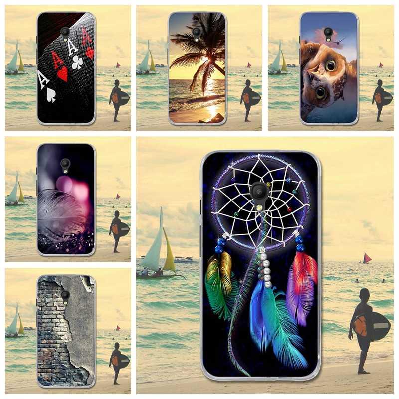 Étui pour alcatel en Silicone souple pour carillons de rêve de dessin animé peint une touche Pixi 4 5.0 OT 5045 5045D couvertures Fundas