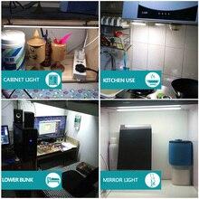 LED Cabinet Light LED Bar 12V Motion Sensor Kitchen Wardrobe Night Lights Lighting for Under Kitchen Cabinets Closet Light