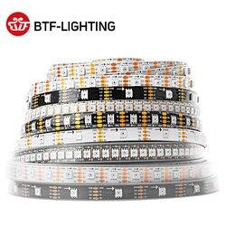 SK9822(Similar APA102) Smart RGB Led Pixel Strip 1m/5m 30/60/144 Leds/pixels/m DATA and CLOCK Separately IP30/IP65/IP67 DC5V