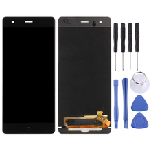 5.5 Original For ZTE Nubia Z17 NX563J LCD Touch Screen Digitizer Assembly For ZTE Nubia Z17 Lite NX591J LCD Display Replacement jonsnow full coverage tempered glass for zte nubia z17 lite 5 5 inch protective film for zte nubia m2 lite screen protector