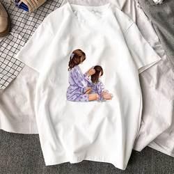 Korean Fashion Clothing 2019 New Arrival T Shirt Tee Shirt Super Mom Female T-shirt Mother's Harajuku Kawaii White Tshirt Women 3