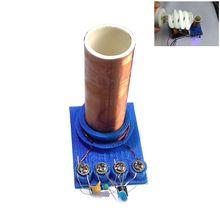 1 компл. Тесла катушка DIY мини электронная технология светильник ручной работы ручной сборки магический компонент