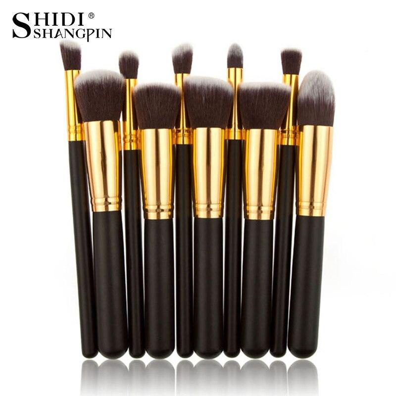 Brush-Tools Makeup-Brushes-Set Foundation Eyeliner Face-Powder Cosmetics Eye-Shadow Professional