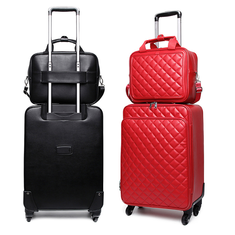 GraspDream Personal password box Luggage bag Korean version small fresh Trolley Suitcase women s box 16