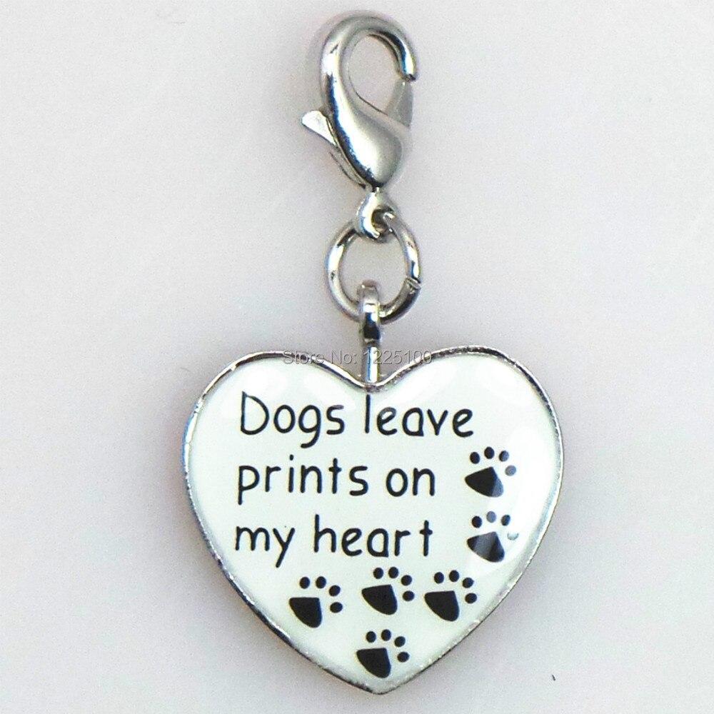 popular paw print charms buy cheap paw print charms lots