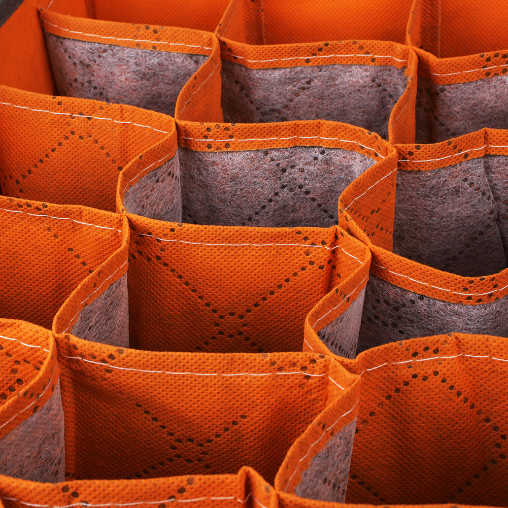 Foldable Nonwoven Underwear Socks Drawer Closet Organizers Storage Boxes