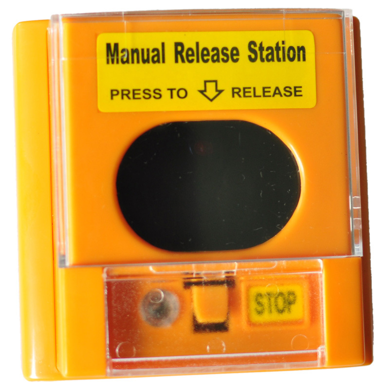 Automatic Gas Controller Manual Release Station, Fire Protection System Manual Release Station Work With  Fire Fighting Panel