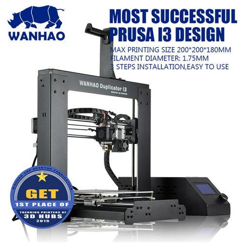 Wanhao New 2 1 2017 High Quality Precision Reprap Prusa i3 DIY For UK US EU