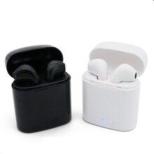 Fones de Ouvido Bluetooth Fones De Ouvido Sem Fio fone de Ouvido TWS 6 Gêmeos Duplas Estéreo Música Fone De Ouvido para IPhone Samsung Xiaomi Android Huawei