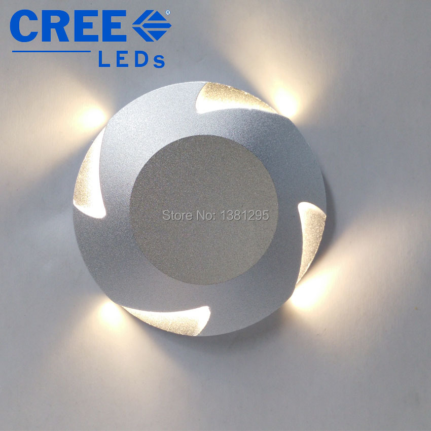 12V 24V IP67 3W Mini CREE LED Recessed Wall Light Floor Lamp Step Stair Lighting Stairs