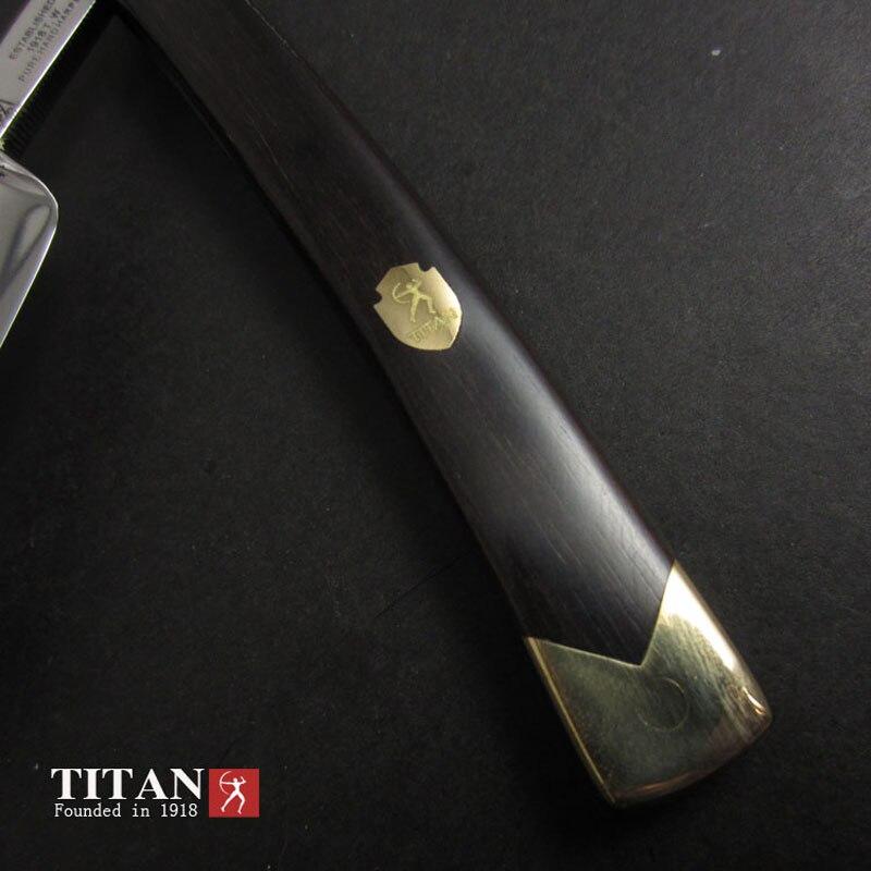 Titan hohe qualität rasieren rasierer edelstahl klinge sharp bereits staight rasierer kostenloser versand - 2
