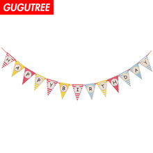 Decorate 2.6m red blue yellow white dot letter banners wedding event christmas halloween festival birthday party HY-424 decorate 2 2m boys gilrs family banners wedding event christmas halloween festival birthday party hy 435