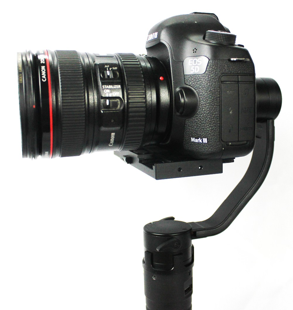 F16556 Beholder DS1 3-Axis Handhled Gimbal Stabilzier Support Canon 5D 6D 7D DSLR VS MS1 Nebula 4000 lite