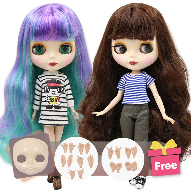 ICY Neo Blythe Doll Colorful Hair Regular & Jointed Body 30cm