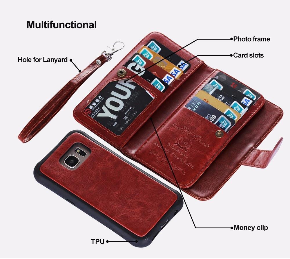 LANCASE շքեղ դրամապանակի հեռախոսների - Բջջային հեռախոսի պարագաներ և պահեստամասեր - Լուսանկար 2