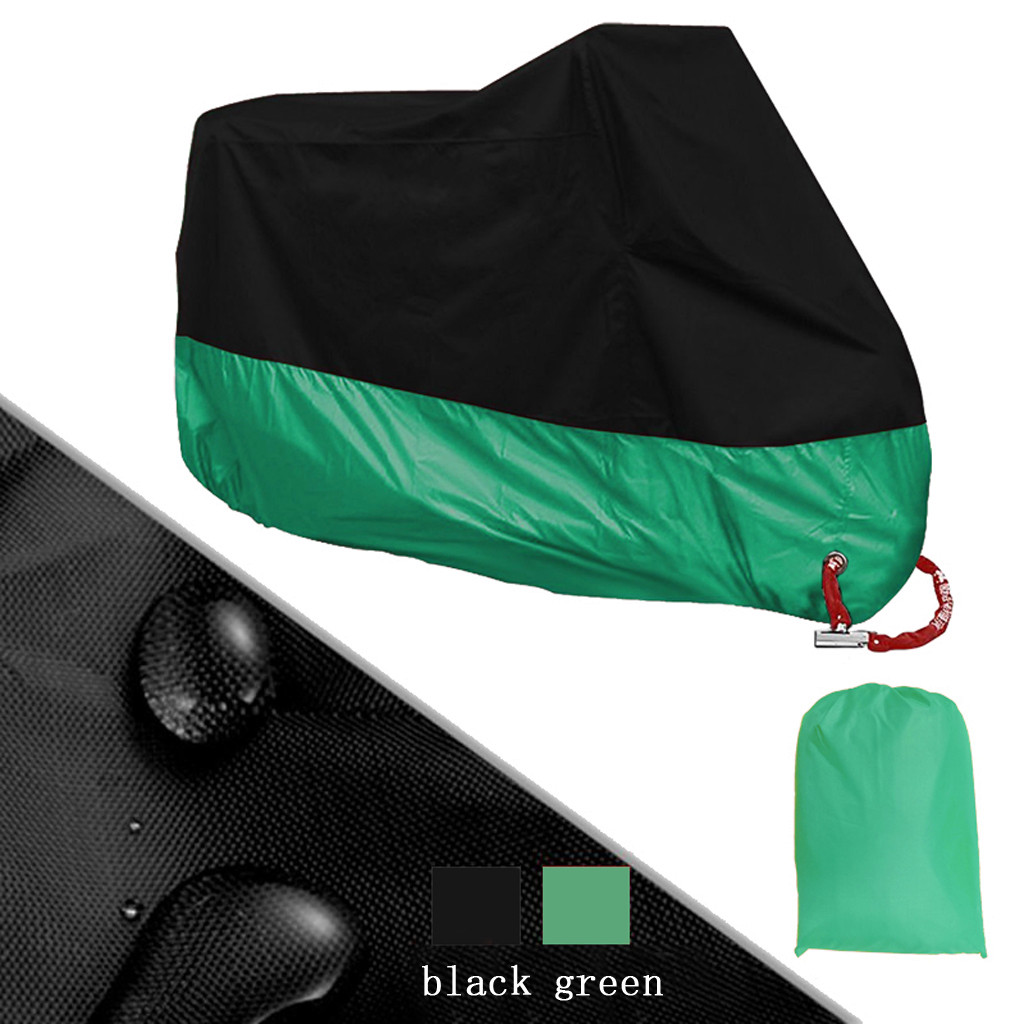 Motorcycle Cover Universal <b>Outdoor</b> Uv Protector Bicycle <b>Dustproof</b> ...
