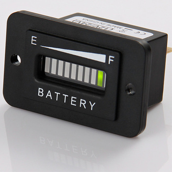 Battery Charge Indicator led three color display for Car golf carts forklift Boats Scooters and electric vehicle  RL-BI003