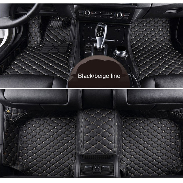 Carnong Eather Car Mat Floor For Volvo Xc90 2010 2018 5 Seater