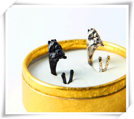 Оптовая продажа кольцо в стиле ретро панк померанское свободного